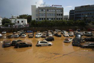 Το Μαρούσι μετά από πλημμύρα